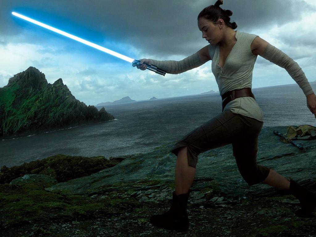 Star Wars Wallpaper: The Last Jedi - Rey