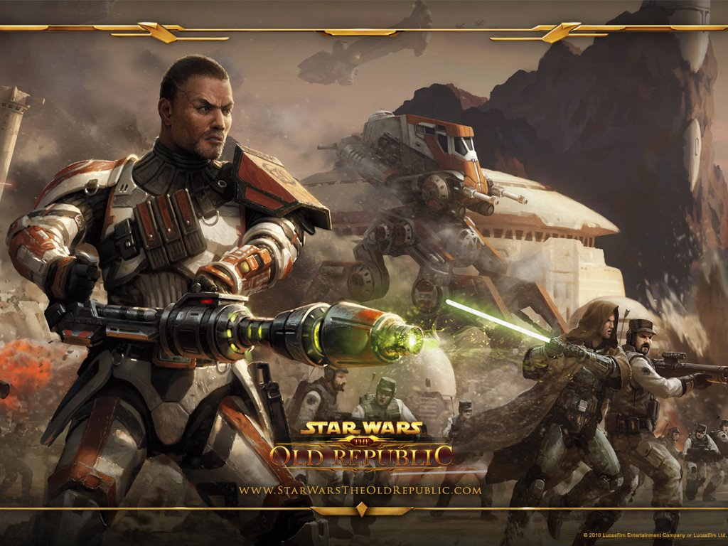Star Wars Wallpaper: The Old Republic - Commando