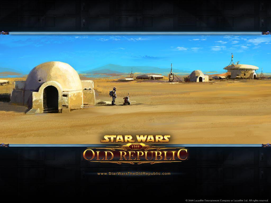 Star Wars Wallpaper: The Old Republic - Tatooine