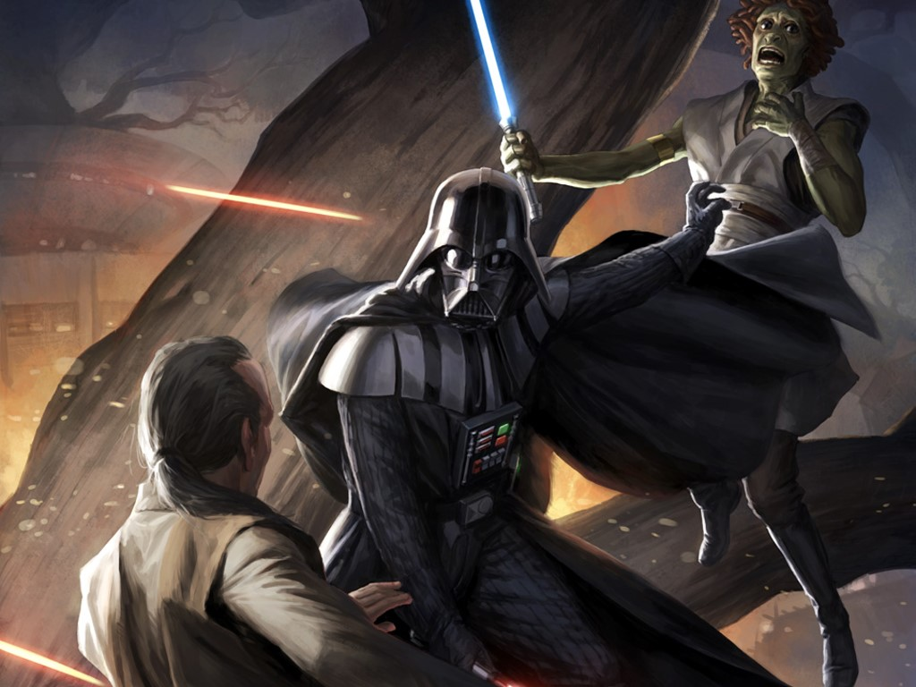 Star Wars Wallpaper: The Rise of Vader (by Darren Tan)