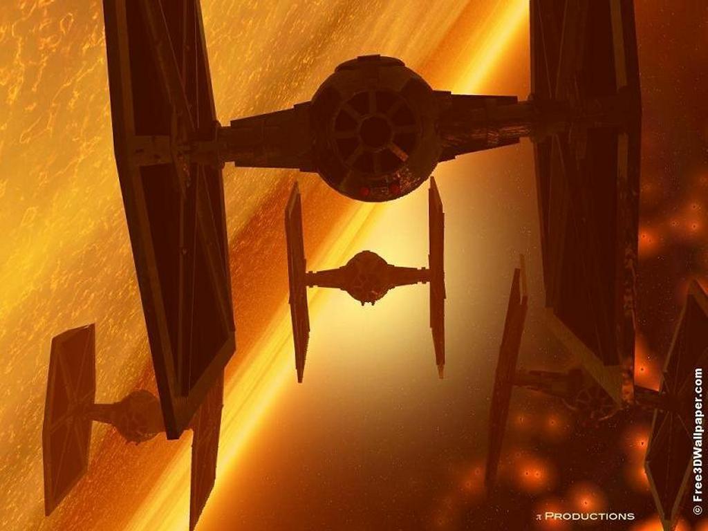 Star Wars Wallpaper: Tie-Fighter