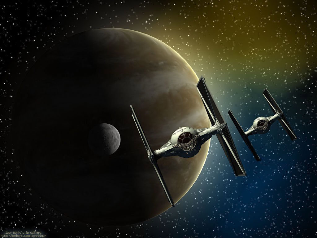 Star Wars Wallpaper: Tie Fighters