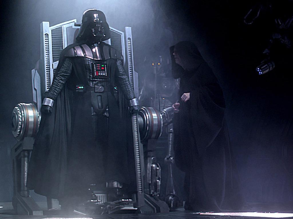 Star Wars Wallpaper: Transformation - Lord Vader Rises