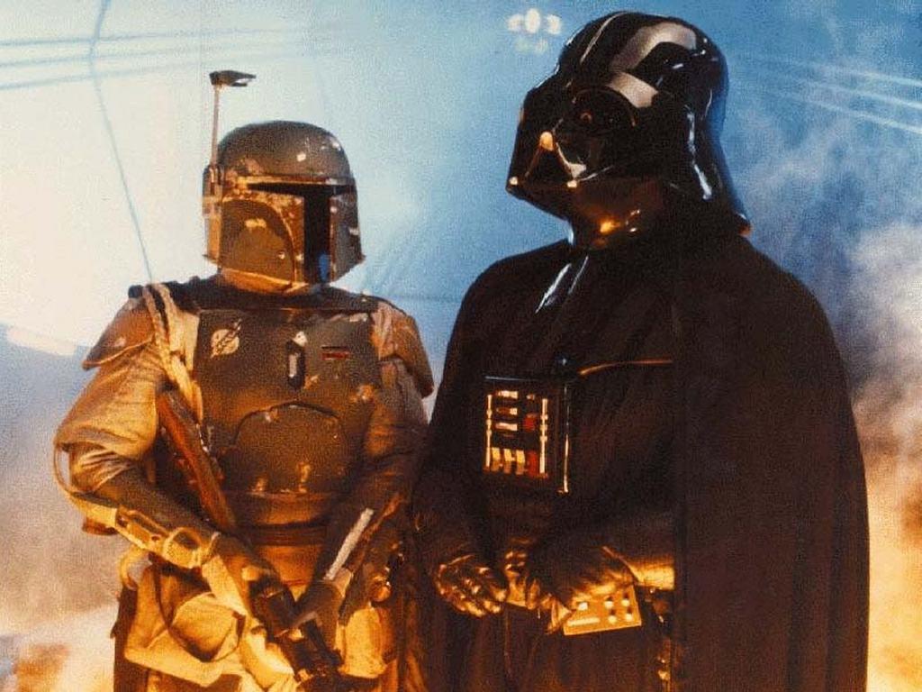 Star Wars Wallpaper: Vader and Fett