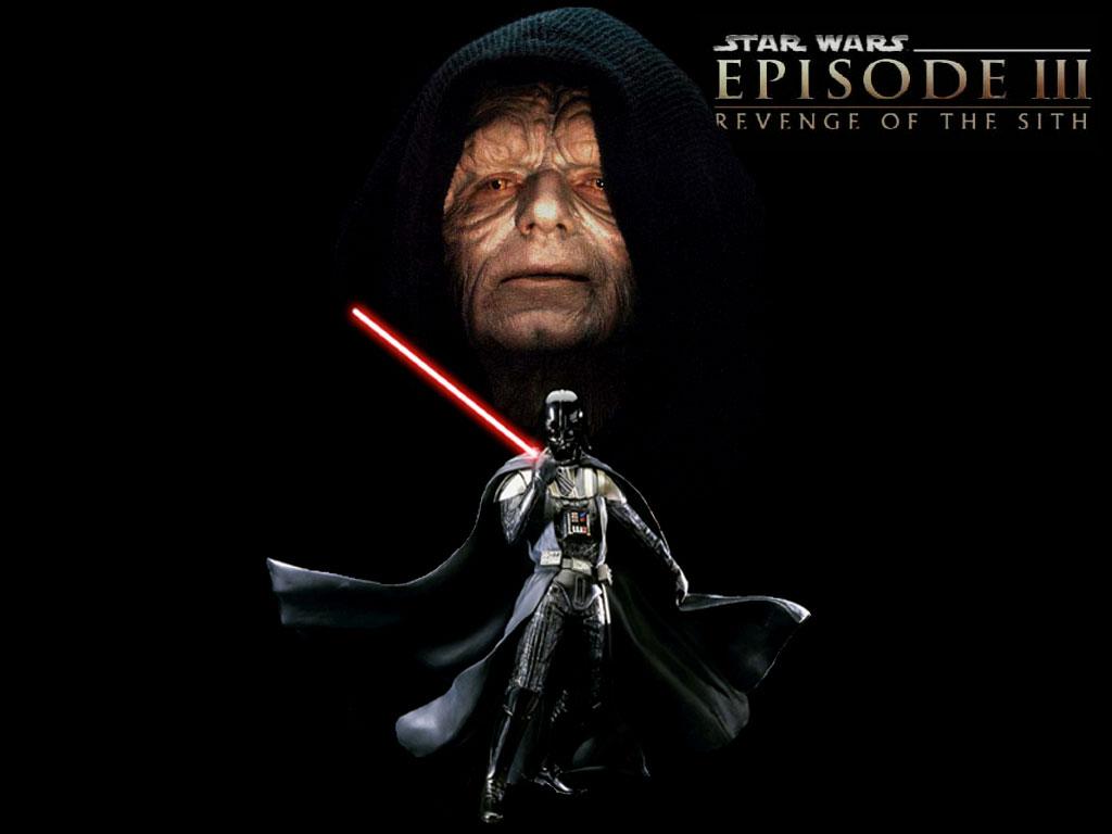 Star Wars Wallpaper: Vader and Palpatine