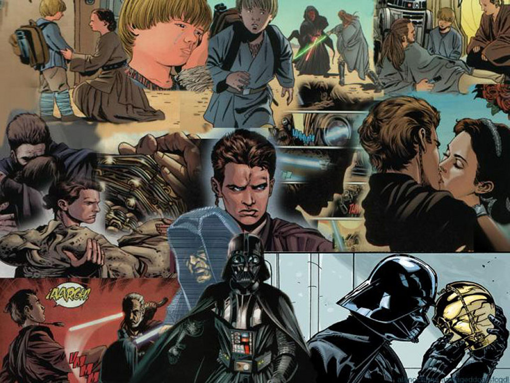 Star Wars Wallpaper: Vader - Evolution