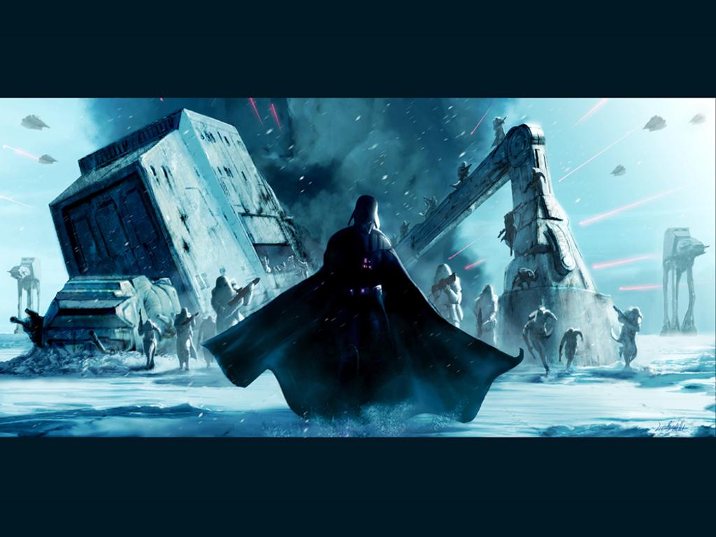 Star Wars Wallpaper: Darth Vader - Hoth