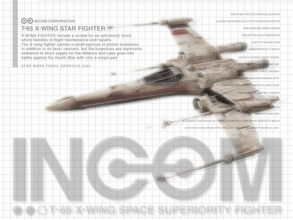 Star Wars Wallpaper: X-Wing Prototype