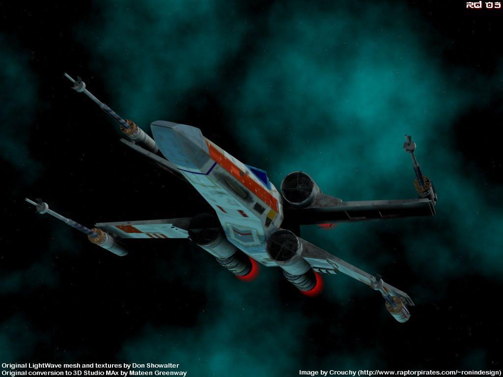 Star Wars Wallpaper: X-Wing
