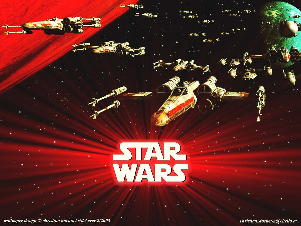 Star Wars Wallpaper: Episode IV - A New Hope (X-Wings)