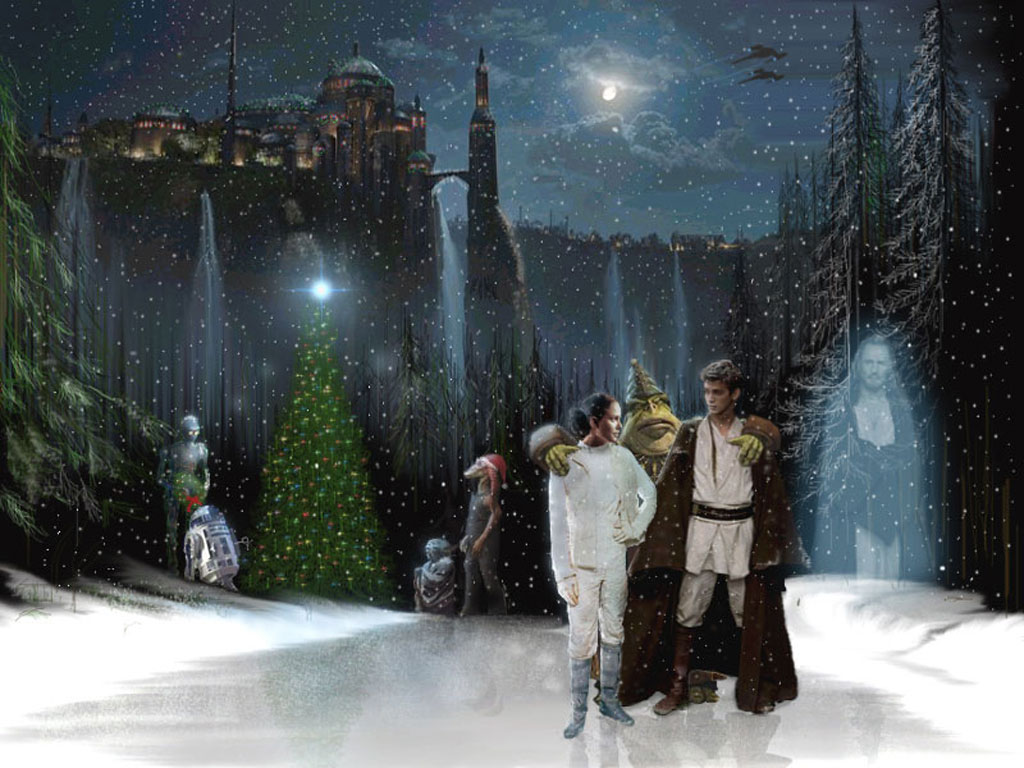 Star Wars Wallpaper: Xmas - Naboo