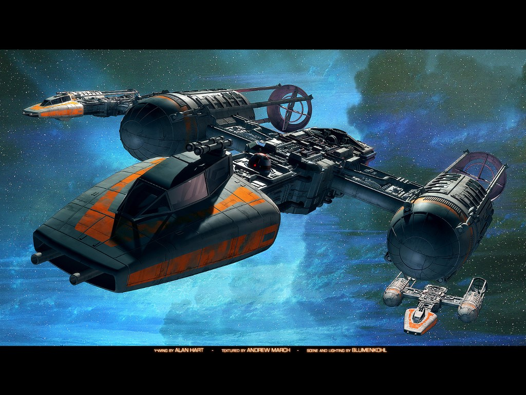 Star Wars Wallpaper: Y-Wing