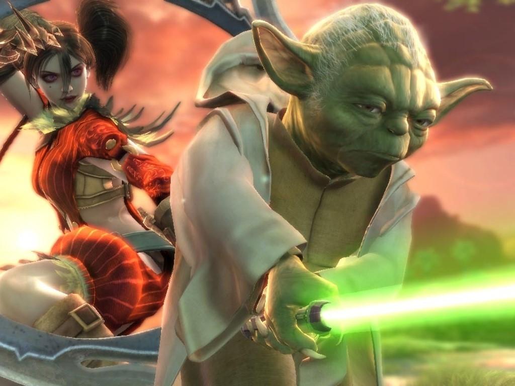 Star Wars Wallpaper: Yoda - Soul Calibur IV