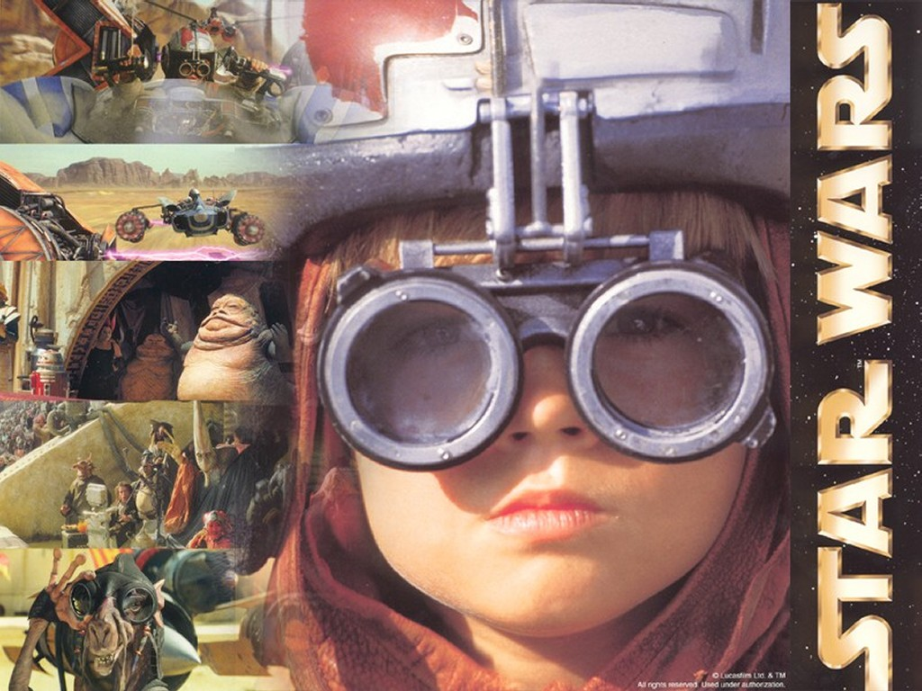 Star Wars Wallpaper: Young Anakim - Pod Racer