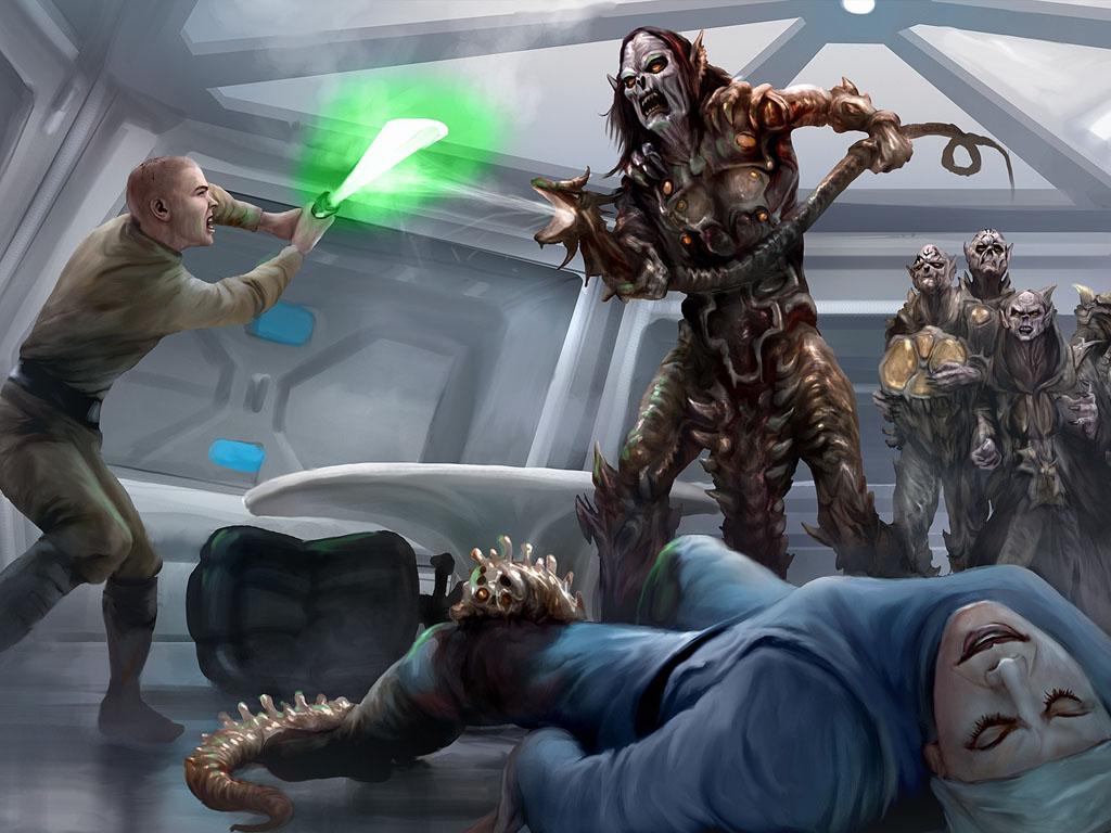 Star Wars Wallpaper: Yuuzhan Vong