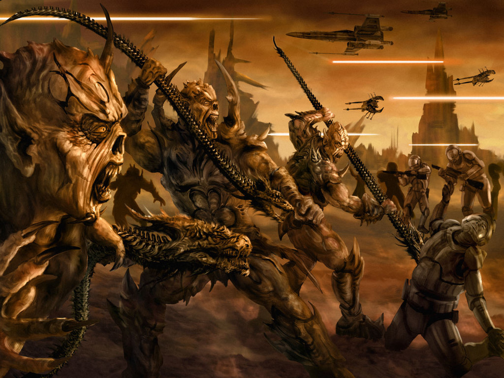 Star Wars Wallpaper: Yuuzhan Vong