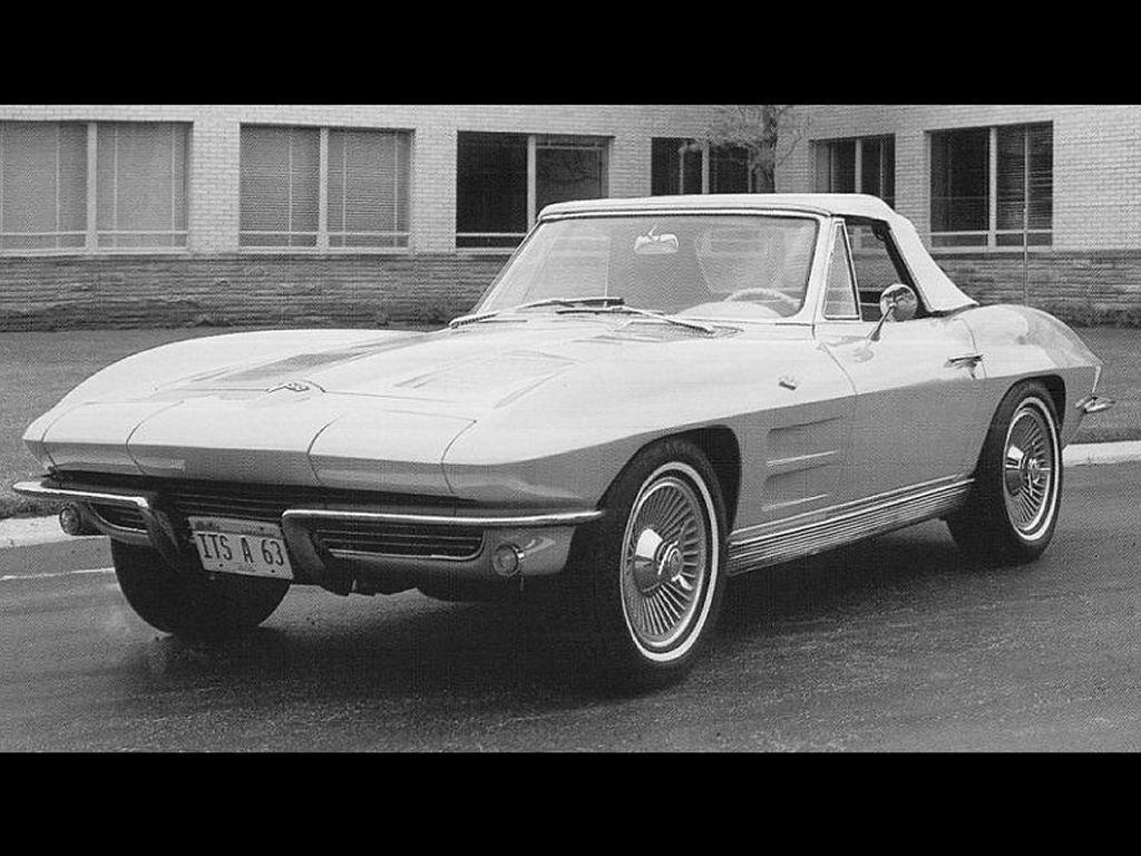 Vehicles Wallpaper: Corvette 1963