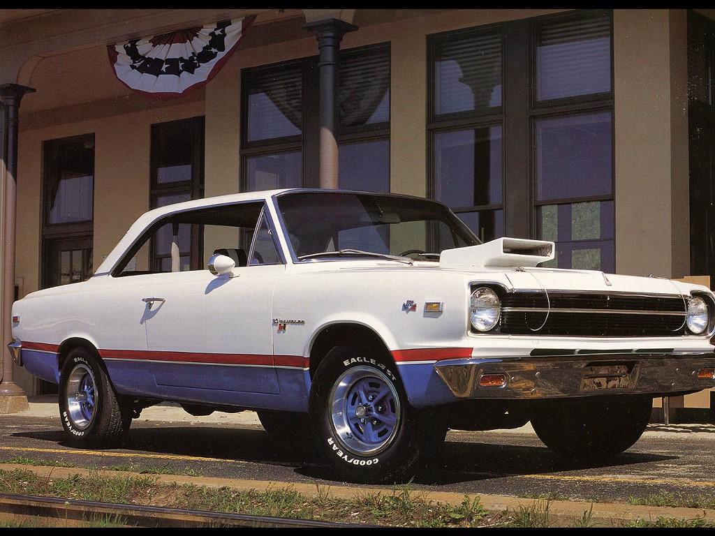 Vehicles Wallpaper: 1969 AMC-Hurst Rambler Coupe