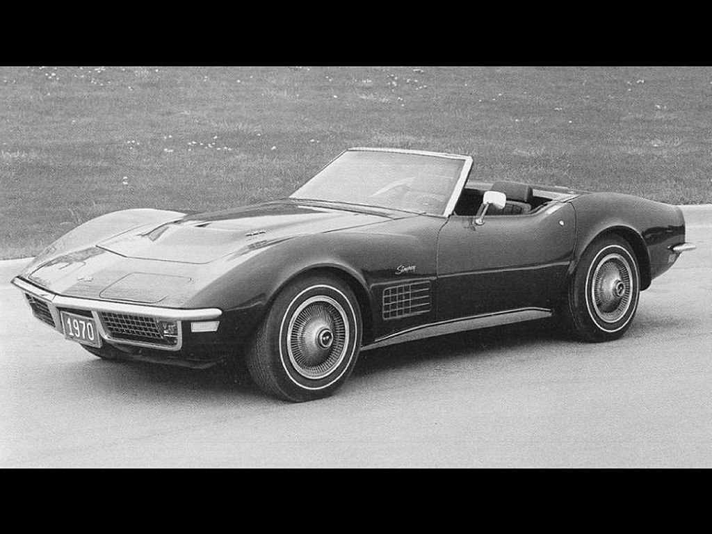 Vehicles Wallpaper: Corvette 1970