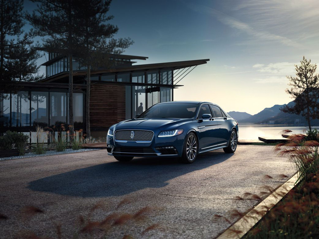 Vehicles Wallpaper: 2017 Lincoln Continental