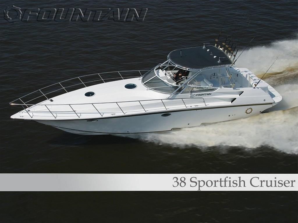 Vehicles Wallpaper: 38 Sportfish Cruiser