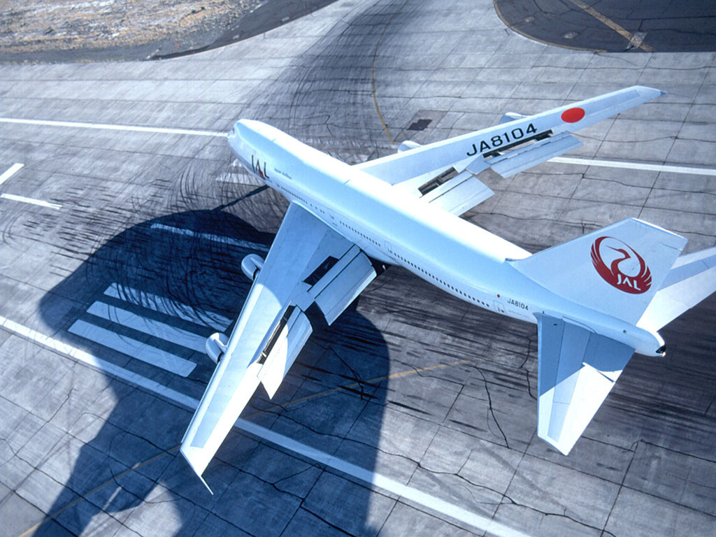 Vehicles Wallpaper: 747 - JAL