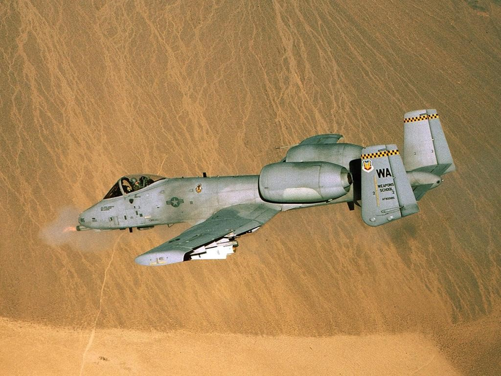 Vehicles Wallpaper: A-10 Thunderbolt