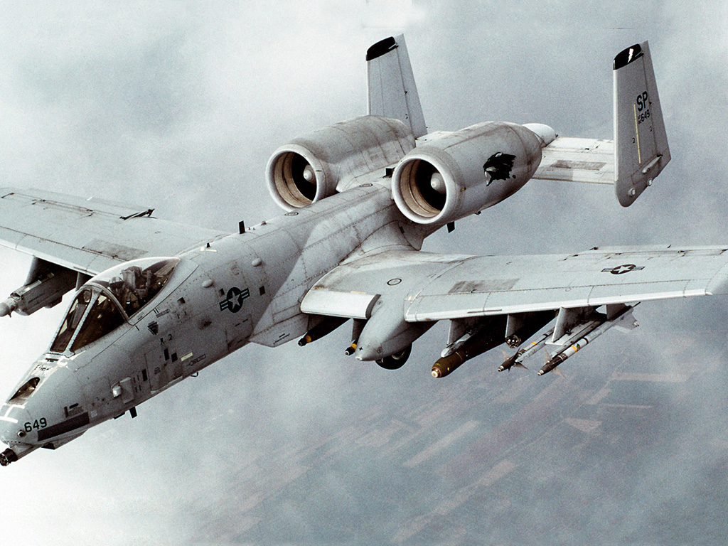 Vehicles Wallpaper: A-10 Warthog