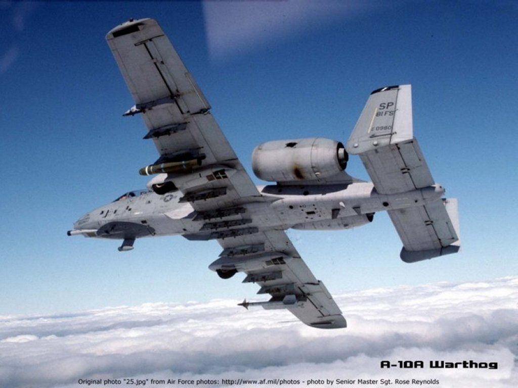 Vehicles Wallpaper: A-10 - Warthog