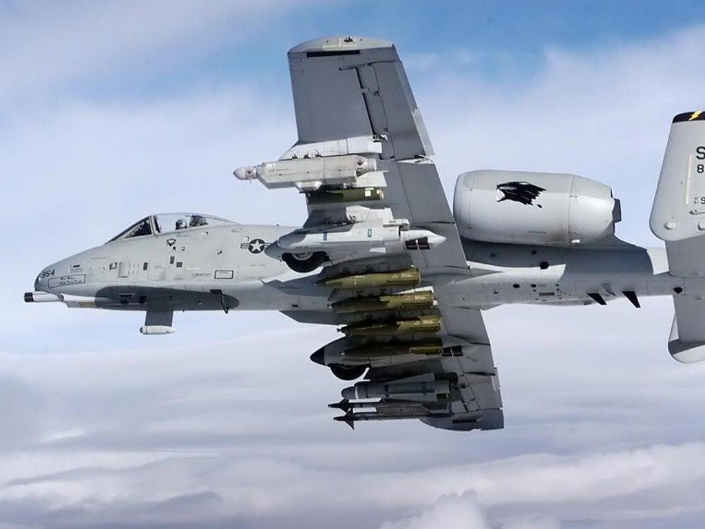 Vehicles Wallpaper: A-10 Thunderbolt (Warthog)