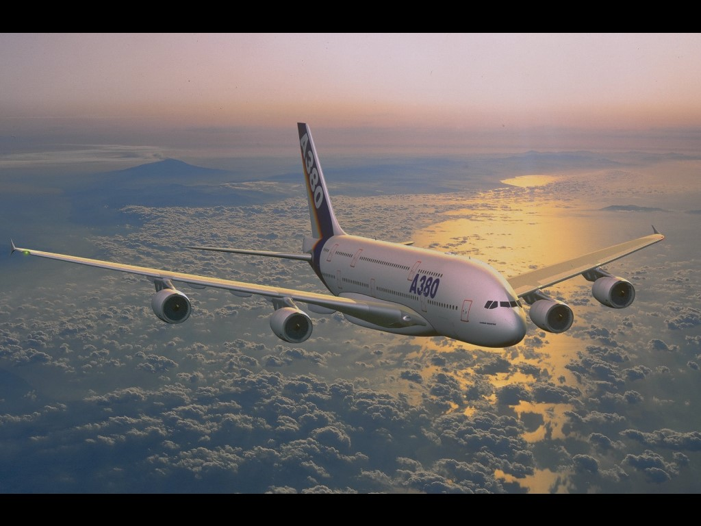 Vehicles Wallpaper: A380