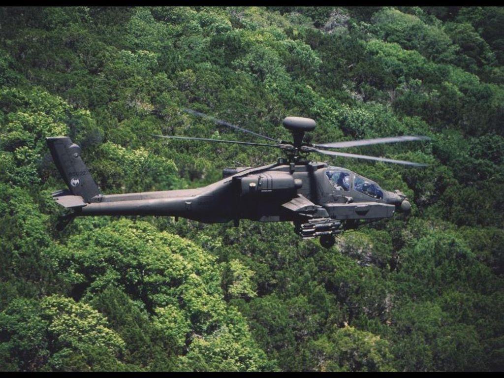 Vehicles Wallpaper: AH-64 Apache Longbow