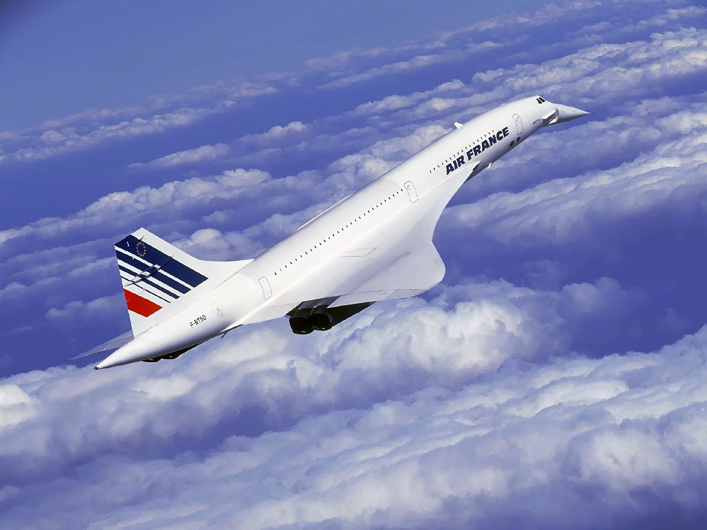 Vehicles Wallpaper: Concorde