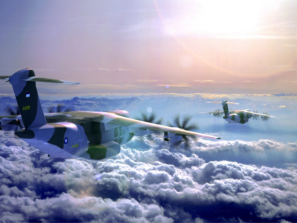 Vehicles Wallpaper: Airbuses