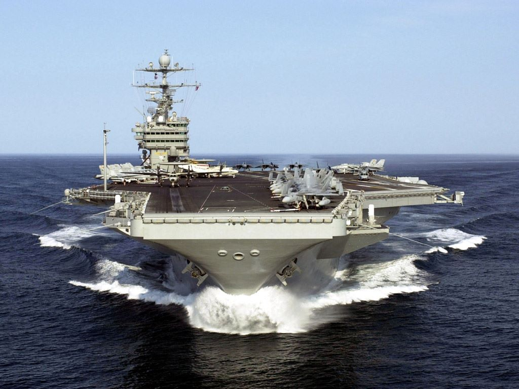 Vehicles Wallpaper: Aircraft Carrier USS Harry S. Truman