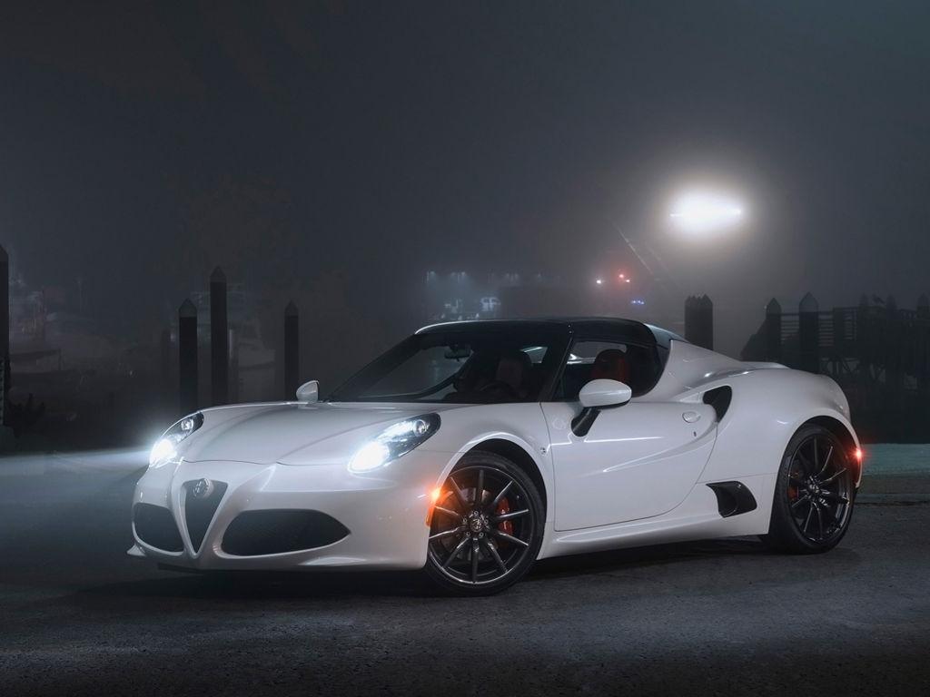 Vehicles Wallpaper: Alfa Romeo 4C Spider