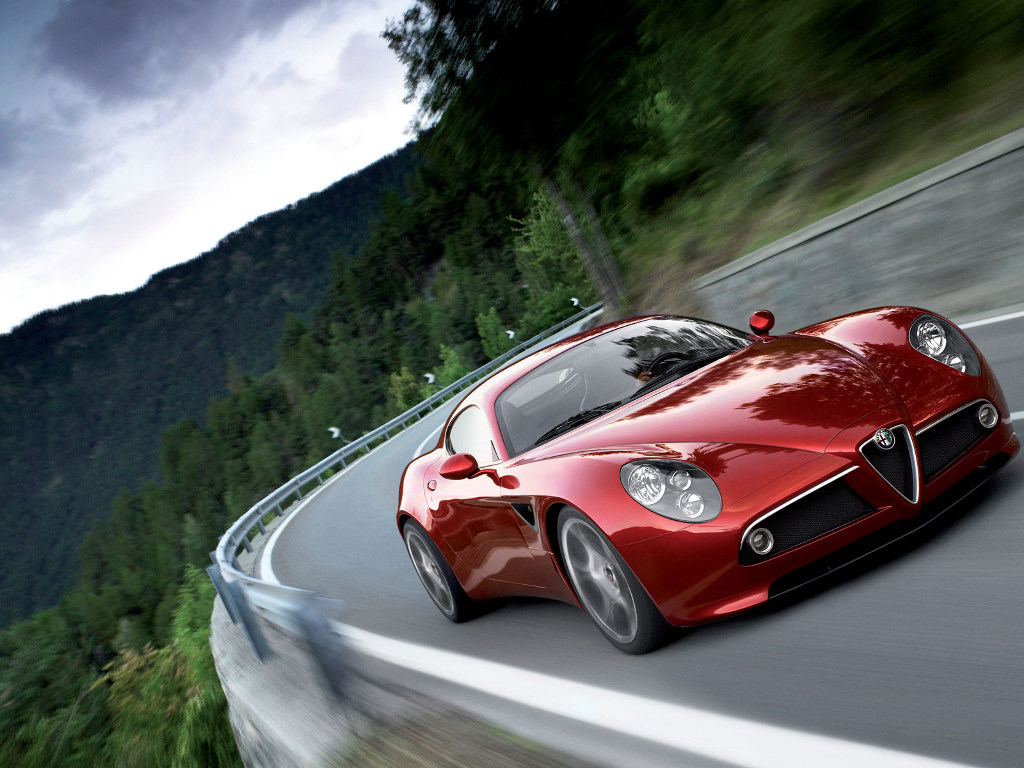 Vehicles Wallpaper: Alfa Romeo 8C