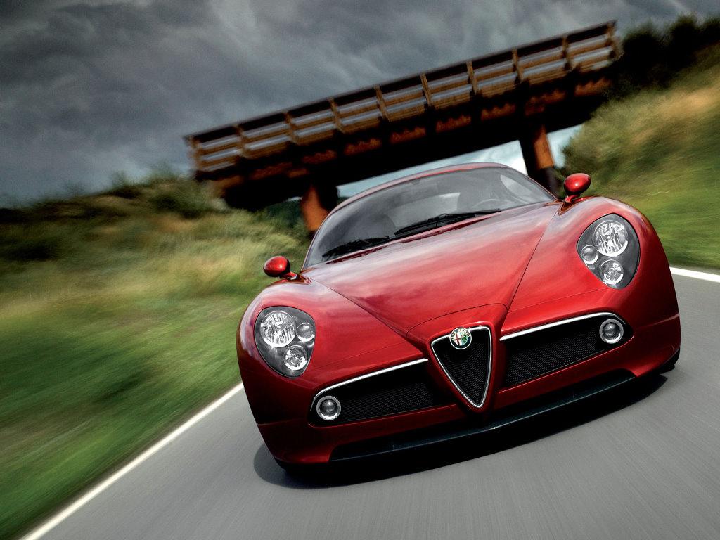 Vehicles Wallpaper: Alfa Romeo 8C