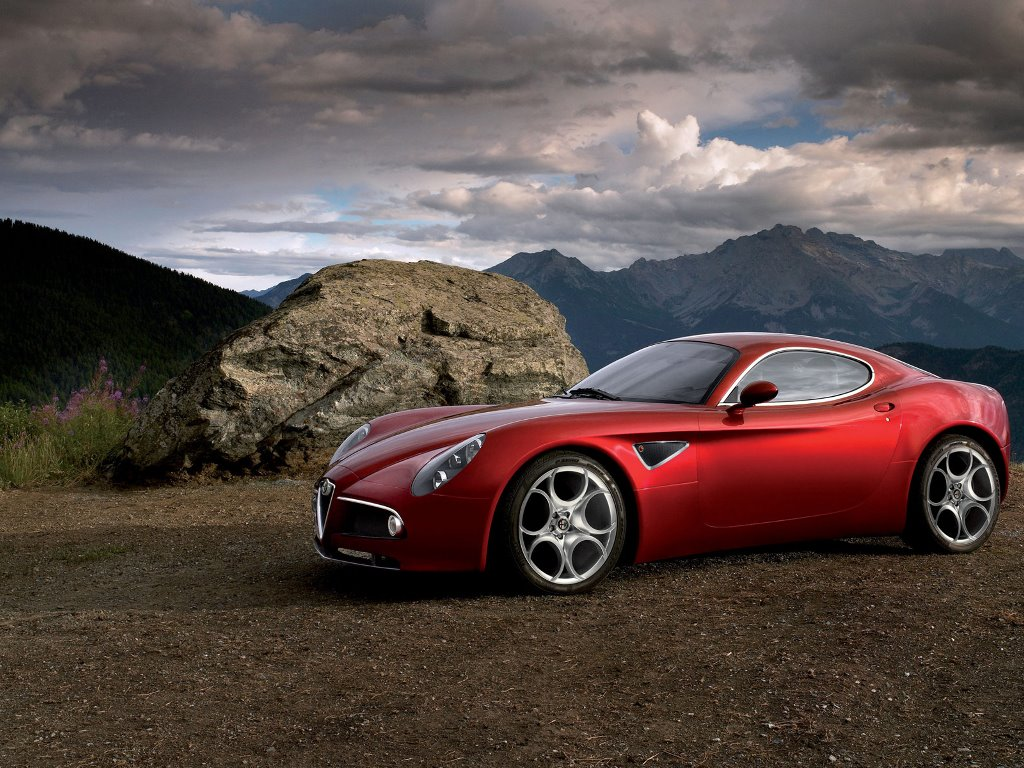 Vehicles Wallpaper: Alfa Romeo