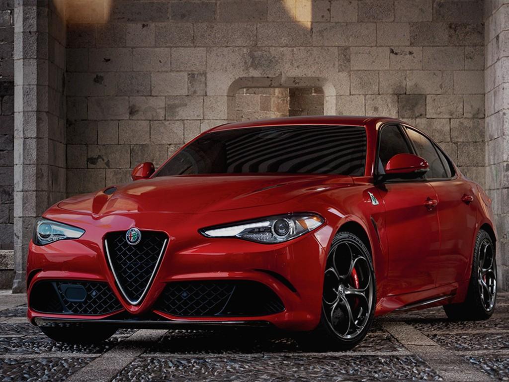 Vehicles Wallpaper: Alfa Romeo Giulia Quadrifoglio