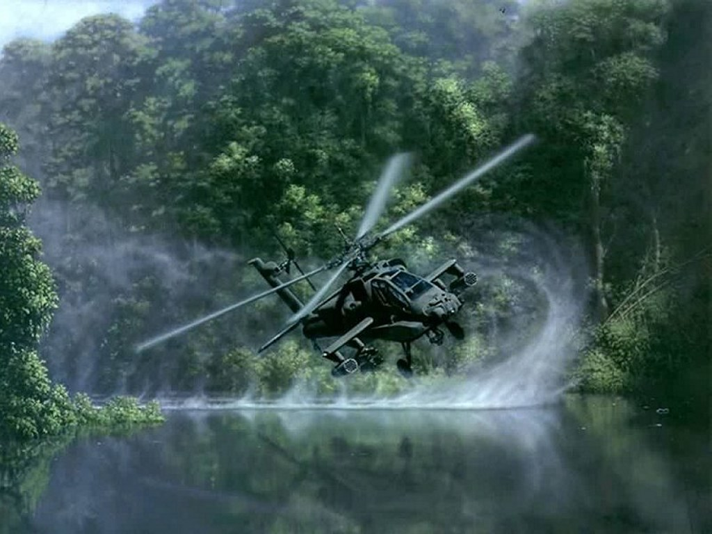 Vehicles Wallpaper: Apache