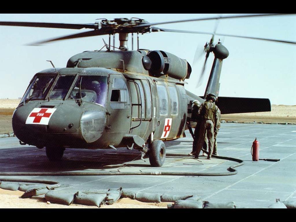 Vehicles Wallpaper: Army Air Ambulance