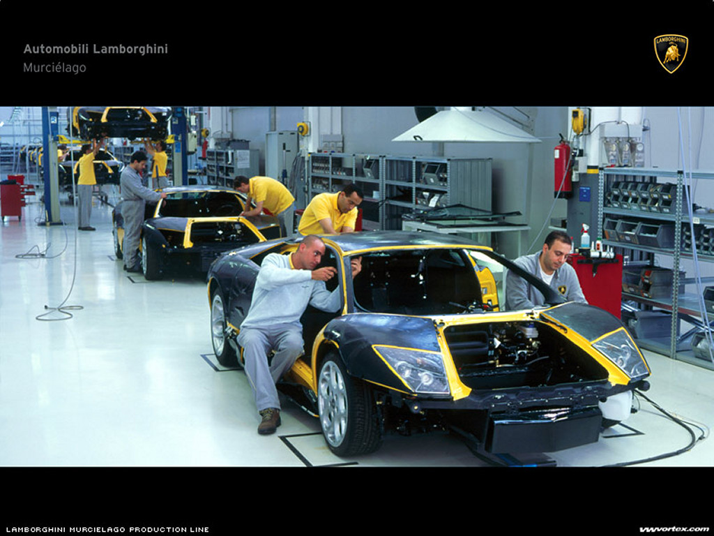 Vehicles Wallpaper: Assembly - Murcielago