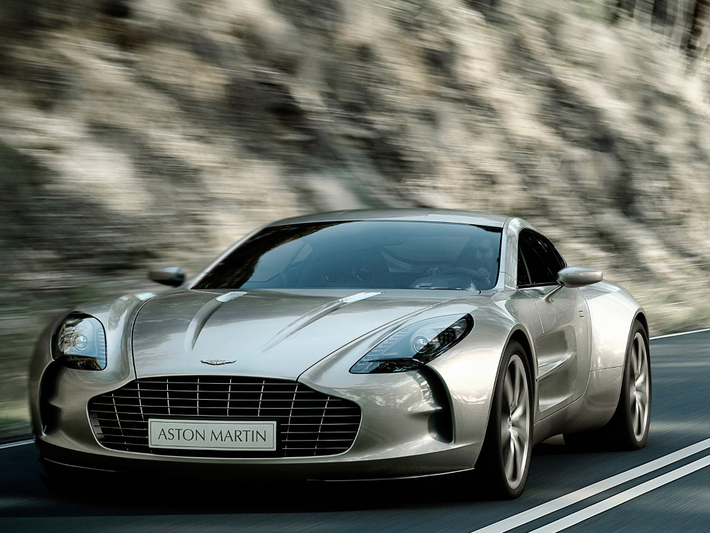 Vehicles Wallpaper: Aston Martin