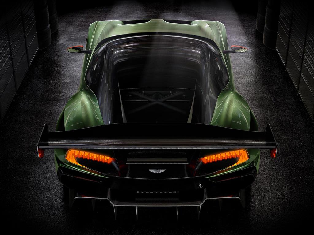 Vehicles Wallpaper: Aston Martin Vulcan