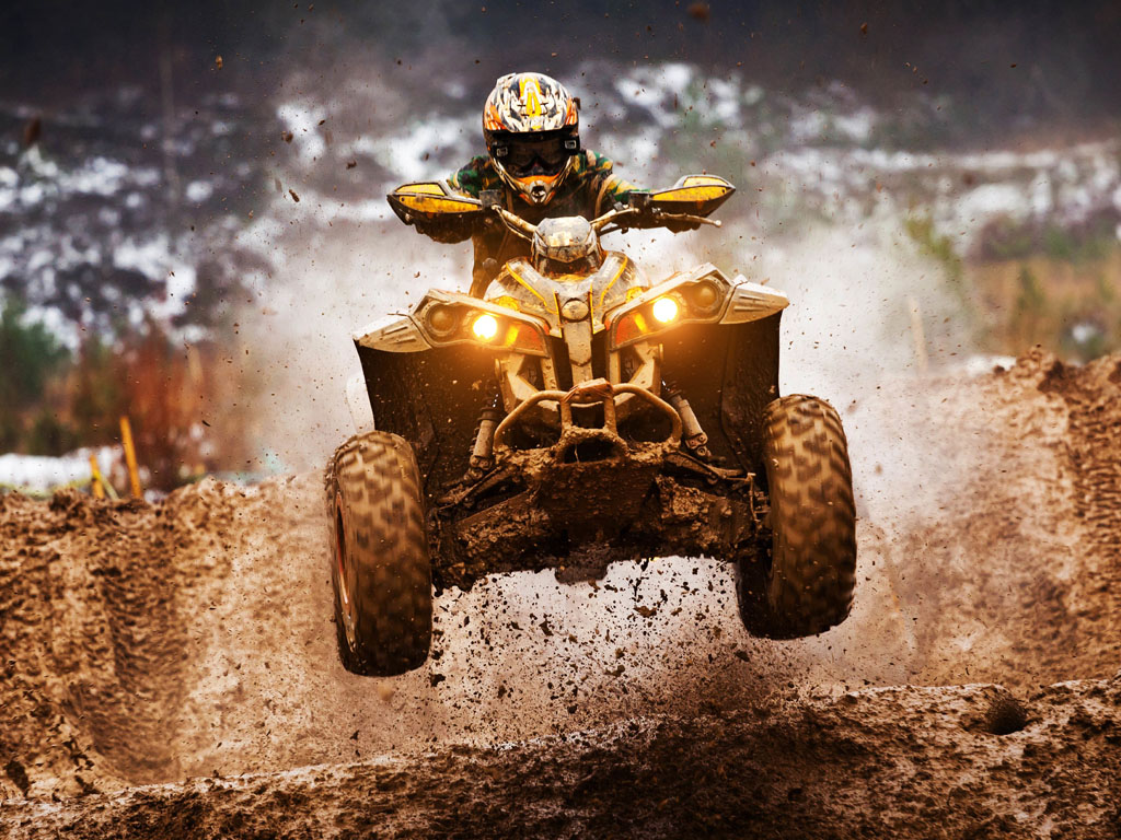 Vehicles Wallpaper: ATV Motocross Quadricycle
