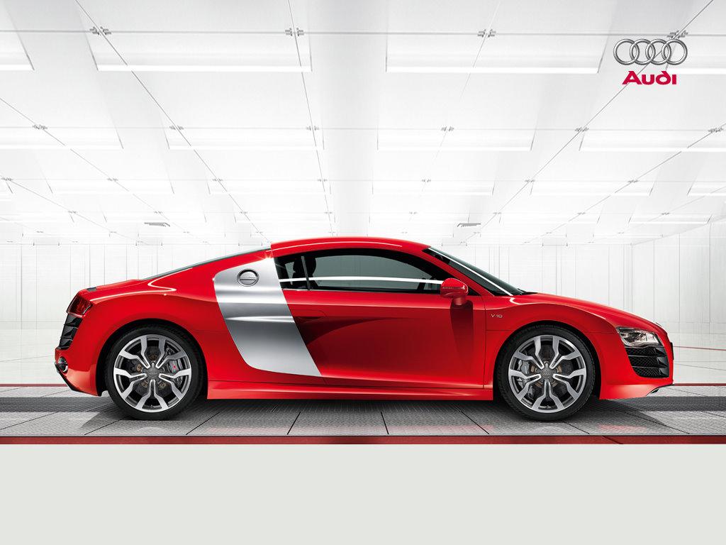 Vehicles Wallpaper: Audi R8 V10