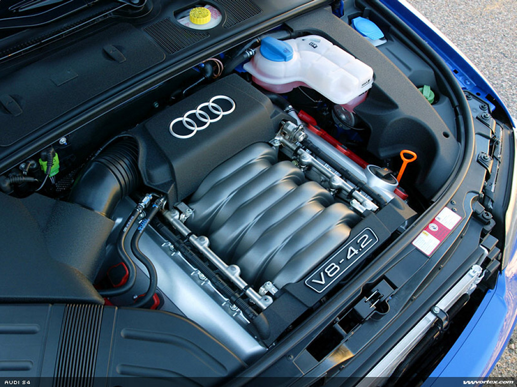 Vehicles Wallpaper: Audi S4 - Engine