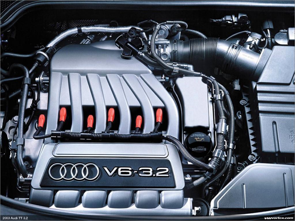 Vehicles Wallpaper: Audi TT - Engine