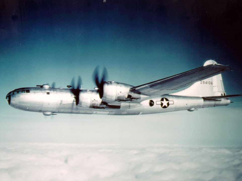Vehicles Wallpaper: B-29 Flying Fortress